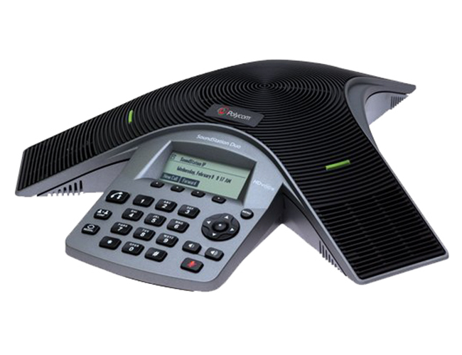 Polycom SoundStation Duo 双模(模拟/IP) 会议电话