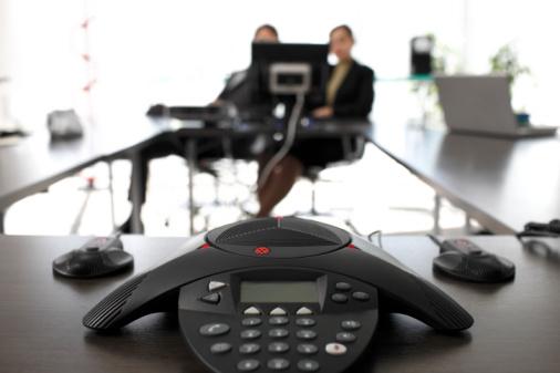 召开电话会议需要哪些设备