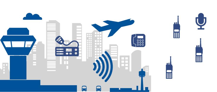 德西特集群对讲网关在机场内通系统中的应用